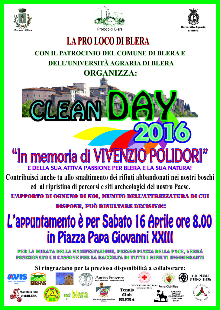 Clean Day 2016